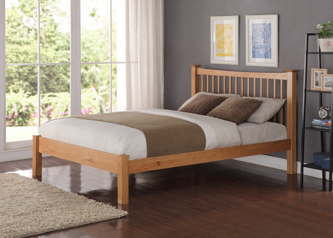 wood bed frames nuneaton warwickshire
