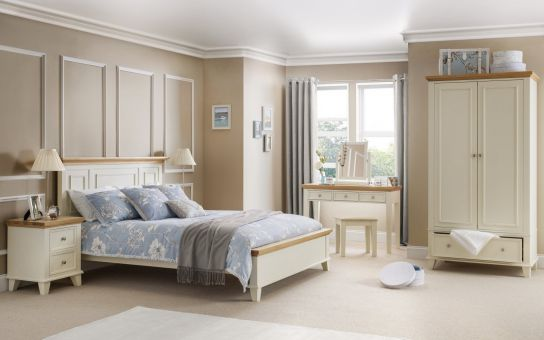 Julian Bowen Portland bedroom furniture.