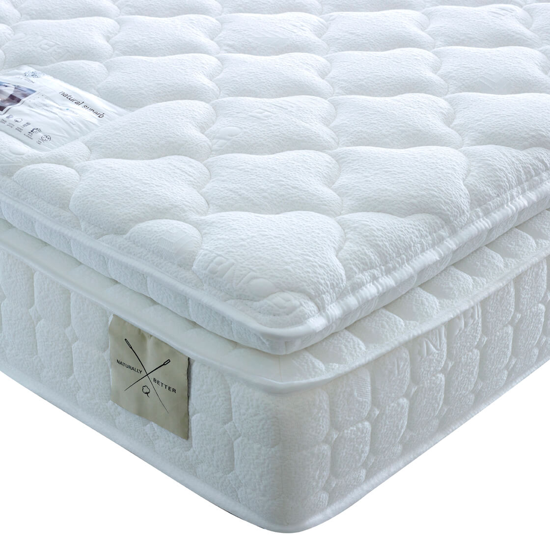 Natural Superb 2000 next day delivery mattress